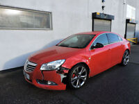61 Vauxhall Insignia 2.0CDTi SRi VX-line Red Damaged Salvage Repairable Cat C