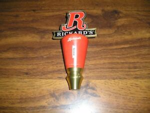 RICKARD'S RED BEER TAP HANDLE - NEW w/BOX