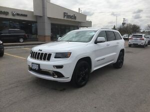 2015 Jeep Grand Cherokee Overland**Leather, Nav, B-up Cam,Pano** London Ontario image 9