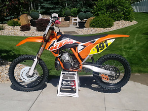 2015 KTM 250SX MOVING NEED GONE