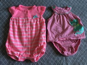 Large baby girl clothes lot 0-3m