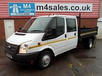 Ford Transit CREW CAB TIPPER RWD WITH STEEL BODY