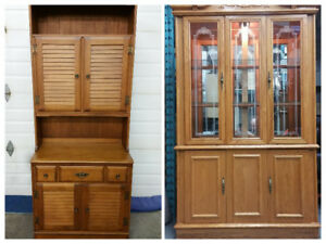 2 Beautiful China/Display Cabinets