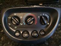 ford ka air con heater controls