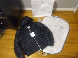 Moncler Morvan Giubbotto Sz 7 (4XL) Authentic