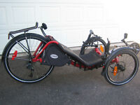 2014 recumbent catrike expedition used only 3 times $2100.00