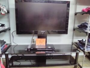 """Samsung 35"""" TV , Stand and DVD Player"""