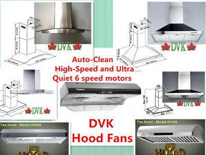DVK Hood Fans,  Range Hoods Up to 60% Off Start from