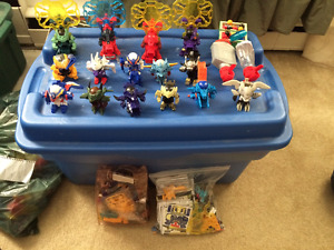 15 B-Daman Figurines Sets and Accessories for sale