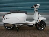 ROYAL ALLOY GP125S LC WHITE 2020 LIQUID COOLED