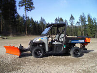 2013 AS NEW POLARIS BRUTUS BOBCAT 4650 WITH SNOW KIT ETC