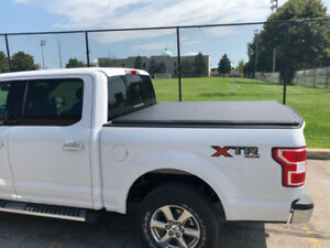 Ford/RAM Tonneau Covers With Safety Strap and 2 LED LIGHTS