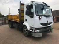 2009 09 Reg Renault Midlum Tipper NO VAT TO PAY