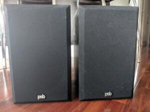 PSB Alpha bookshelf speakers
