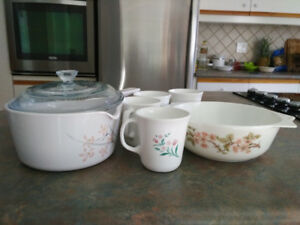 Mugs, Casserole Dish, Sauce Pan & Plates for Sale