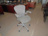 HERMAN MILLER AERON CHAIRS USED EXCELLENT CONDITION