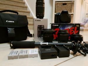 Canon Rebel T5i (Big Bundle)