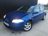 2007 57 Renault Megane extreme 1 year mot 28 day warranty
