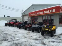 Yamaha Honda Kawasaki. Polaris Can am Arctic cat Suzuki  Atv