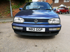 Mark 3 vw golf cabriolet - modern classic for repair or spares