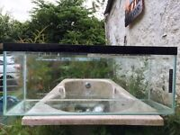 3ft fish tank no lid £50