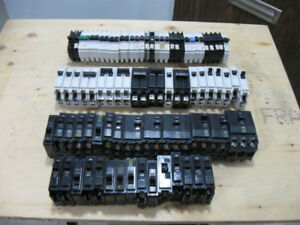 Lot of Circuit Breakers