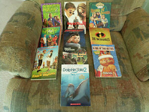 Kids Movie and TV Show Books
