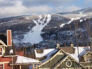Ski condo rental at Mont-Tremblant - great view and location