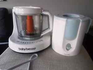 Baby food maker and bottle warmer