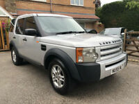 Land Rover Discovery 3 2.7TD V6 ( 7st ) 2005 55 REG VERY CLEAN BARGAIN £3490