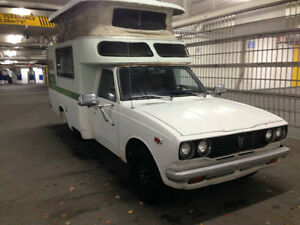 1976 Toyota Chinook Pop Top Camper. OBO. Open To Trades.