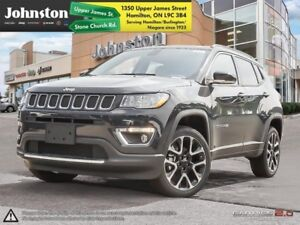 2018 Jeep Compass Limited 4x4  - Navigation -  Uconnect - $109.3