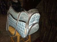 Pet carrier - Argo duffle style airline approved - new