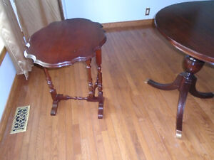 ANTIQUE GATE LEG TILT TOP TABLE Marked Shield Man with Top Hat