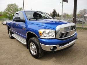 2008 DODGE RAM 2500,QUAD CAB,4X4-6.7L CUMMINS TURBO DIESEL