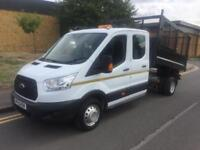 2015 Ford Transit 2.2 350 L3H1 DoubleCab Cage Tipper RWD Manual Tipper
