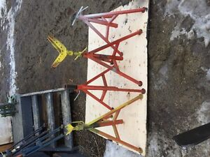 Rigid Pipe Stands For Welders &Pipe Clamps