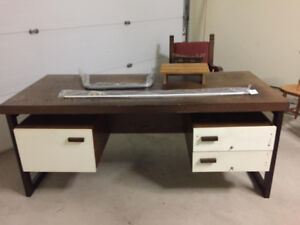Beautiful old desk. Solid wood.