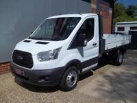 £ 79 A WEEK - 2015 FORD TRANSIT 2.2 NEW SHAPE SINGLE CAB 123HP TIPPER TRUCK