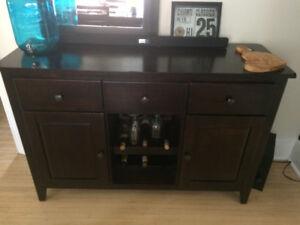 Moving Sale - furniture. Espresso Hutch!