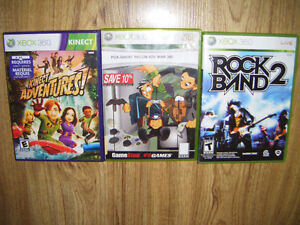 3 Xbox 360 games for sale
