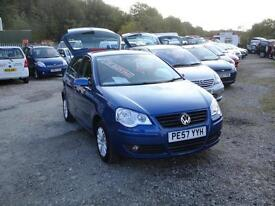 2007 Volkswagen Polo 1.2 S 5-Door. Only 48,000 miles with FSH.