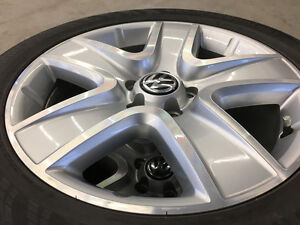 "18"" Continental ContiProContact Tires on VW Rims"
