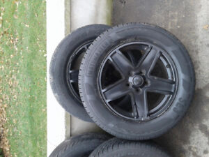 17 inch alloy jeep rims with summer tires