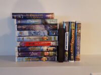 Lot of 13 VHS Childrens Movies including some Disney