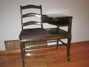 Antique Telephone Table