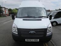 Ford Transit LWB high top panel van Low Mileage One Owner Full Ford Service (46)