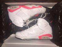 Nike Air Jordan 6 Infared Used