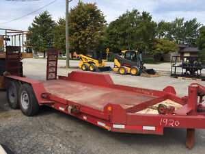 Heavy Equipment Trailer 14,000lb gvw.