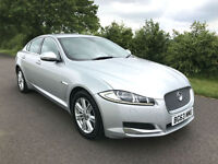 2013 63 JAGUAR XF LUXURY 2.2 DIESEL AUTOMATIC SALOON
